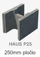 P25 blokeliai pamatams