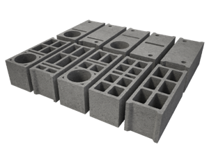 blokeliai sienoms