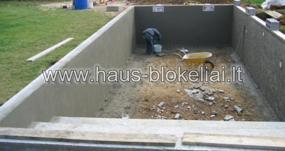 9 baseino grindu betonavimas
