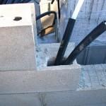 Elektros instaliacija haus sienu blokeliai